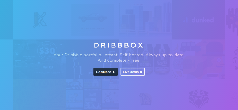 dribbbox1 ghost button trong thiet ke web