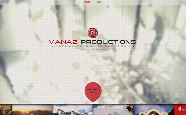 manaz productions thiet ke website mutimedia