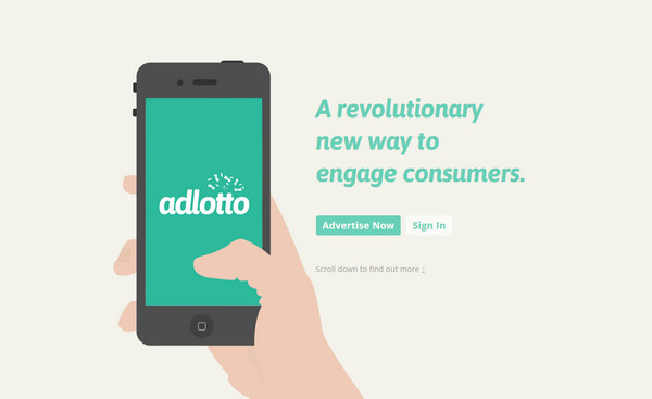 adlotto thiet ke flat illustration website