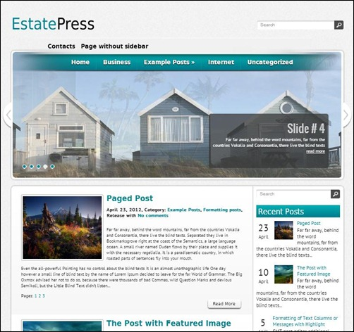 estatepress wordpress theme thumb thiet ke web bat dong san