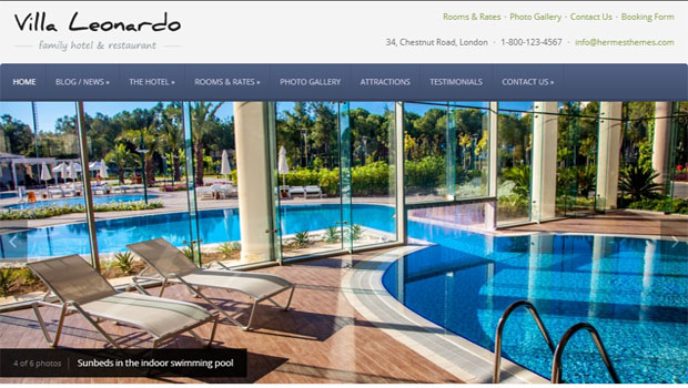 leonardo tourism wordpress responsive theme thiet ke web du lich