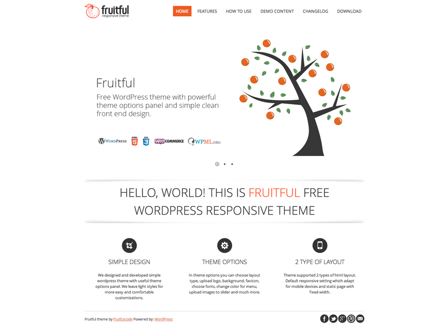 fruitful woocommerce wordpress theme thiet ke web