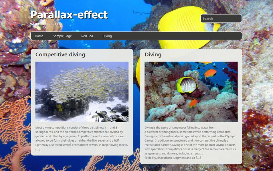 parallax effect free portfolio wordpress theme thiet ke web