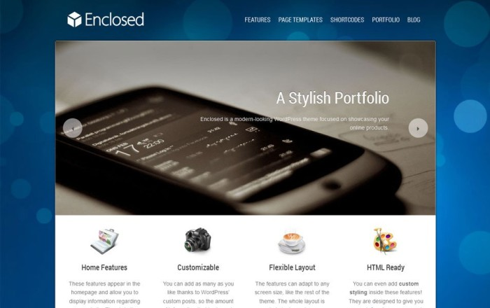 enclosed free wordpress portfolio theme e1419453195153 thiet ke web