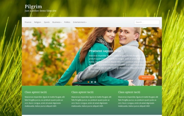 pilgrim free portfolio wordpress theme e1419452454249 thiet ke web