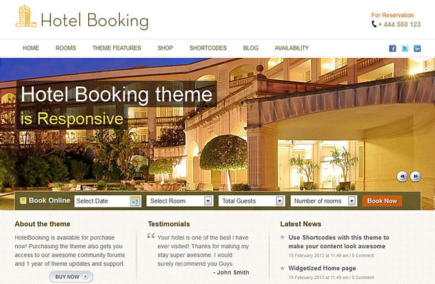 hotel-booking-theme